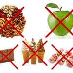 Брекеты и жвачки, орешки, сухарики и чипсы и… мороженое!